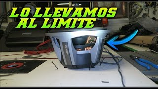 DESTRUYENDO SUBWOOFER HERTZ / CAR AUDIO