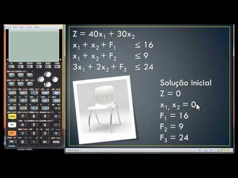 Metodo Simplex - HP 50g