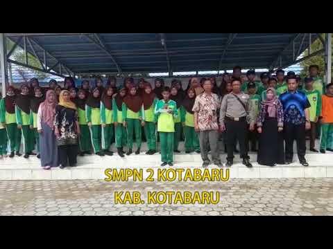 Sat Binmas Polreskotabaru Bersama SMPN 2 Kotabaru Mendeklarasikan ANTI HOAX