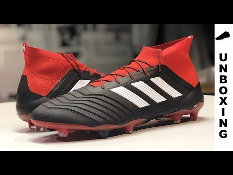 imagen Mirar fijamente Destreza  adidas Predator 18.1 FG DB2039 Core Black/Footwear White/Red - YouTube