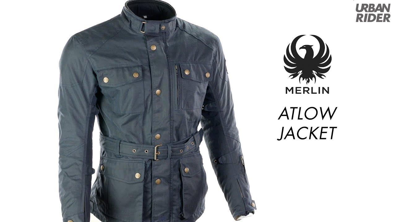 Merlin Atlow Wax Motorcycle Jacket Youtube