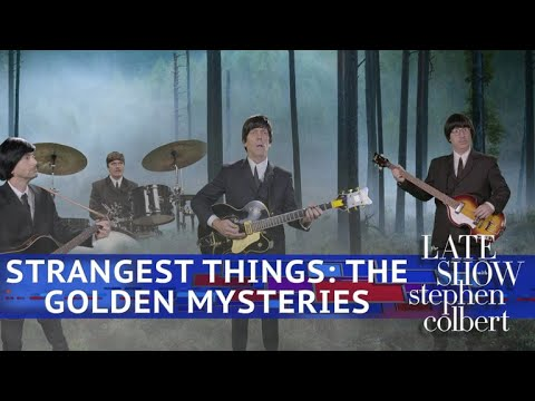 Kids Pitch A New TV : 'Strangest Things: The Golden Mysteries'