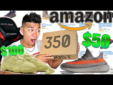 I Bought Every Fake Yeezy From Amazon For Back To School