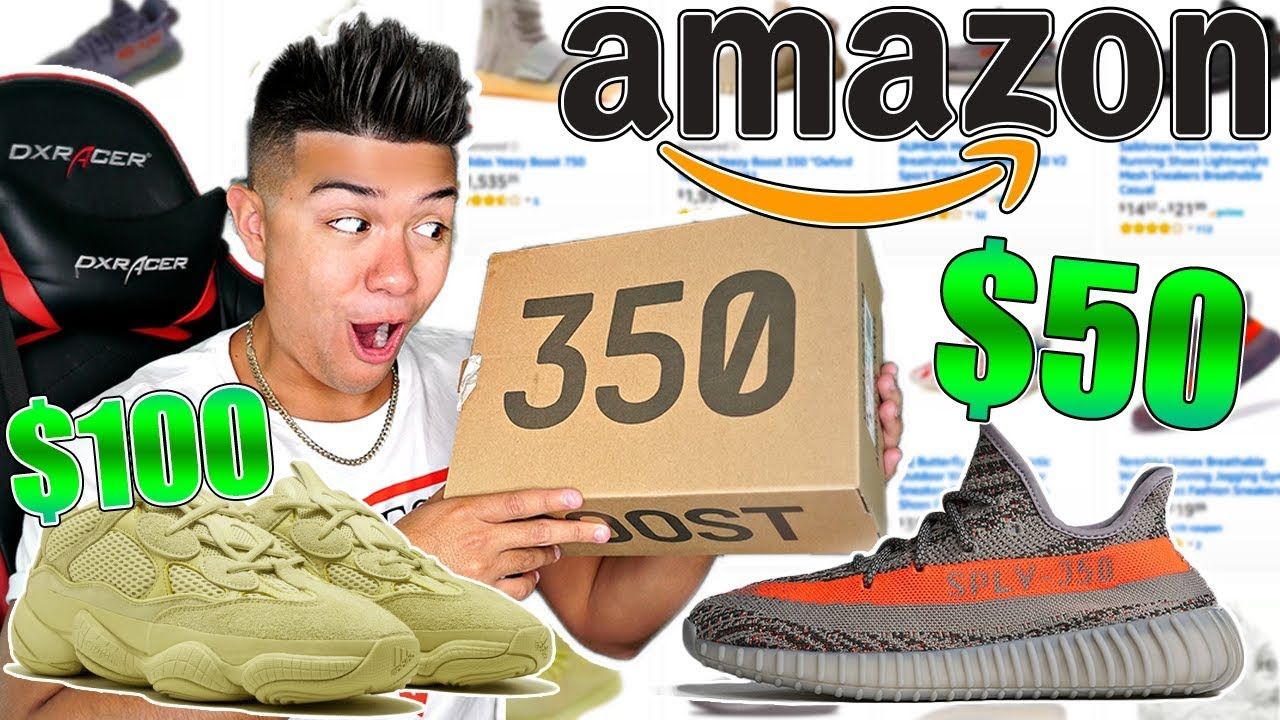 574171169ff0b I Bought Every Fake Yeezy From Amazon For Back To School