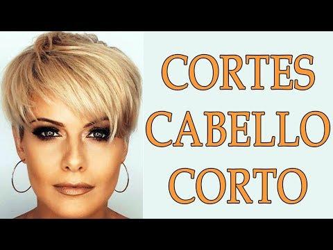 CORTES DE CABELLO CORTO PARA MUJERES DE 40 AÑOS 2018 || CORTES ...