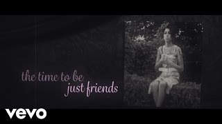 Amy Winehouse - Just Friends (Lyric Video)