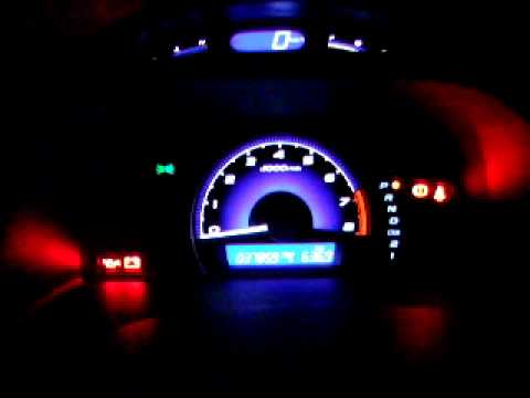 2006 Honda Civic Interior Lighting Youtube