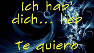 Ich Hab Dich Lieb- LaFee (Español)