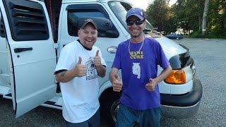 Vans across the border: Nomadic Fanatic & Linescrew1