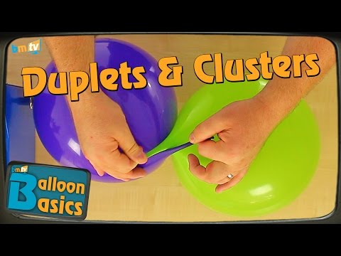 How To Make Duplets & Clusters - Balloon Basics 10