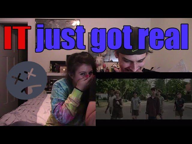 IT - Official Trailer 1 | Couples Reaction!
