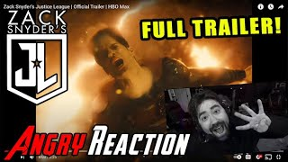 Zack Snyder's Justice League - FULL Trailer - Angry Reaction!