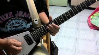 Rock Bottom  UFO   Guitar Cover Lesson