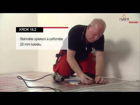 RAYCHEM T2Red + T2Reflecta Floor Heating Installation Guide for Wood & Laminate Floors (Czech)