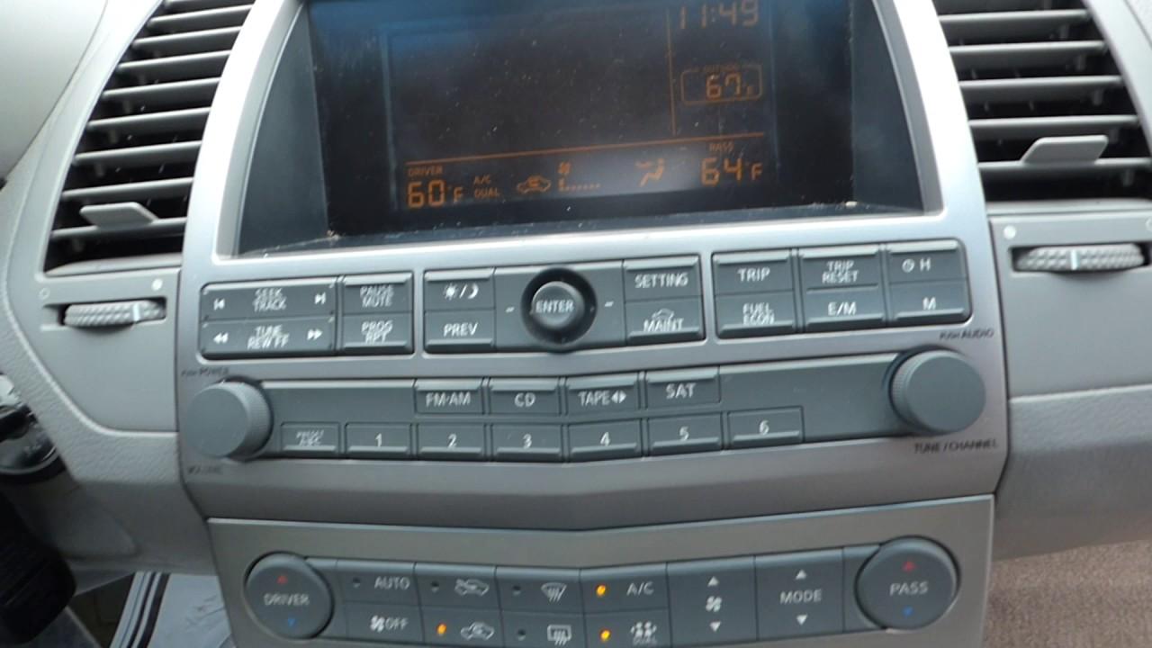 Nissan Altima Radio Wiring Diagram