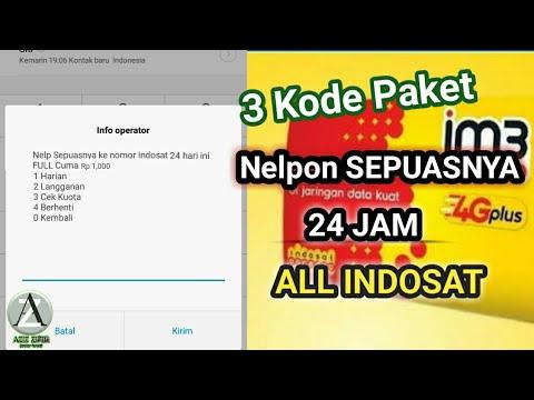 Kode Rahasia Paket Nelpon Sepuasnya All Indosat - Paket indosat TERBARU 2018