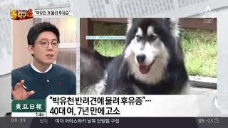 """""""박유천 개 물려 후유증""""…7년 만의 고소, 왜"""