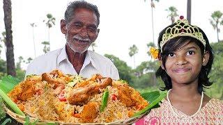 Chicken Biryani Recipe   Chicken Biryani made by our grandpa to celebrate Orphan child Birthday