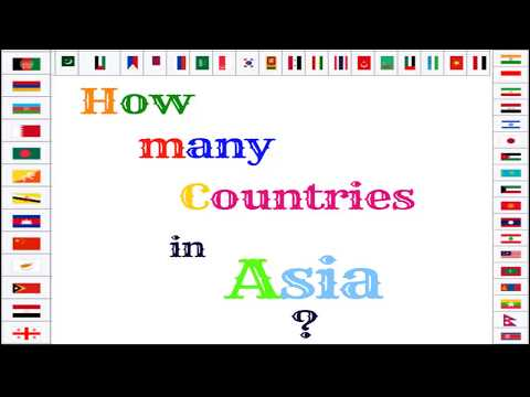 How many Countries in Asia ?