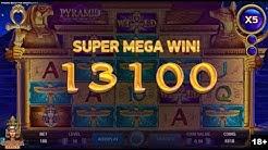 BIG WIN (x185) - Pyramid: Quest for Immortality Online Slot Machine - NetEnt Slots
