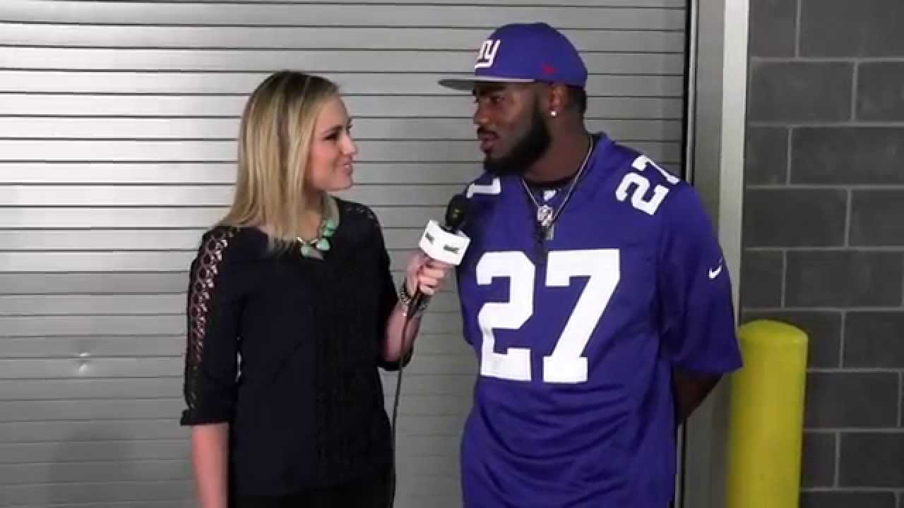 Landon Collins -New York Giants Draft Day Interview - YouTube