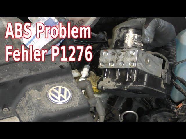Polo 6N2 ABS Steuergerät prüfen und wechseln