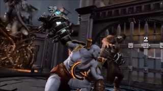 God of War 3 All Boss Death Scene
