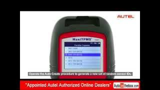 How to replace TPMS sensor with Autel MaxiTPMS TS601/MX-Sensor/ MaxiTPMS Pad