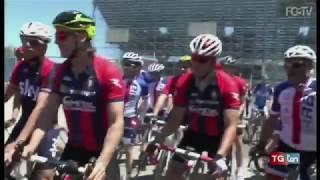 Crotone salvo, partito il Giro d'Italia in bici di Davide Nicola TG ten 9 giugno 2017