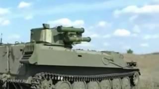 МТ ЛБ многоцелевой транспортер с боевым модулем стрельба видео