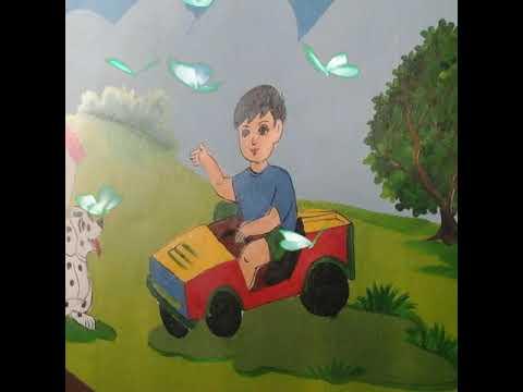 Vẽ tranh tường và trang trí trường mầm non hạ mỹ thuật 0985 962 102