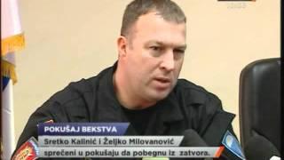 Sprečen pokušaj bekstva Kalinića i Milanovića iz zatvora