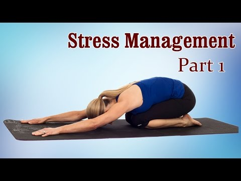 Yoga Exercise For Stress Management