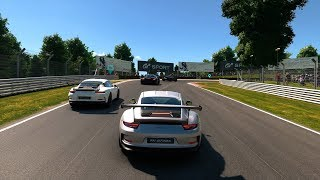 Gran turismo sport - porsche 911 gt3 on brands hatch grand prix circuit (1080p 60fps)