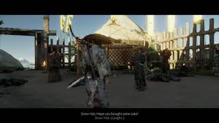 Ghost of Tsushima - The Iron Hook: Set Off Signal: Open The Inner Gate: Defeat The Mongols (2020)