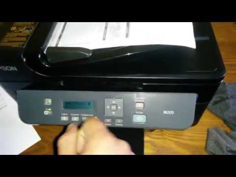 Vídeo tutorial Impresora Epson M205 M200