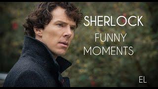 Sherlock | Шерлок | Смешные моменты#1