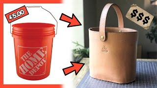 Download lagu Make Your Own Leather Bucket Bag With Pattern