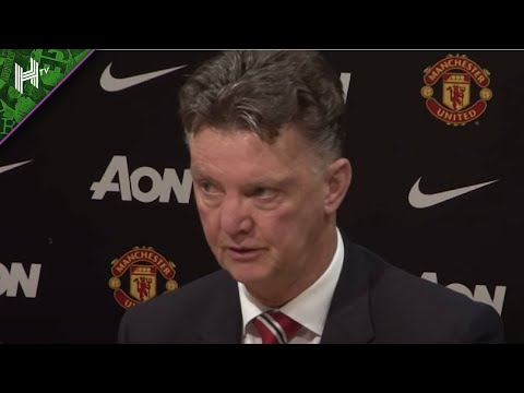 Louis van Gaal angry reaction to Gary Neville saying Man United 'got away with murder' – from 2014