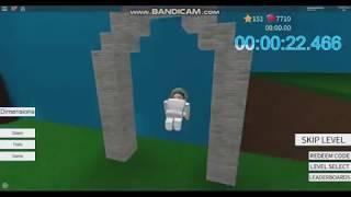 ROBLOX: Speed Run 4 5 Levels No Skips In 2:02:766