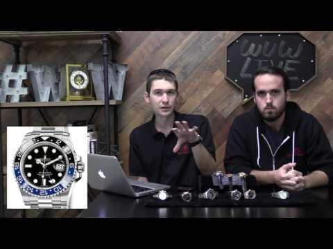 WuW Live: Q&A, Rolex Questions, Rolex Explorer vs... Omega Globemaster?