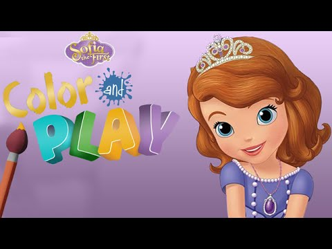 Sofia the First Color and Play: Sofia's Room - 3D Animated Coloring Book App for Kids by Disney