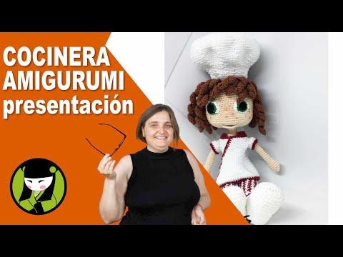 COCINERA AMIGURUMI  presentación