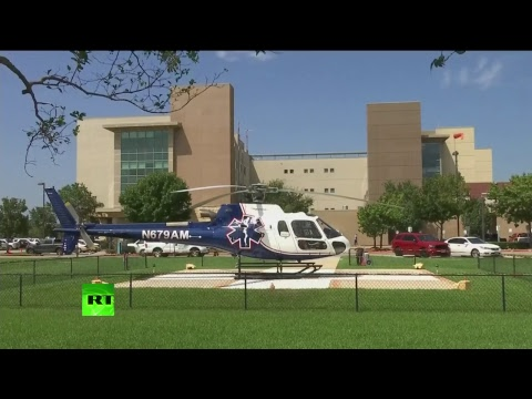 Inondation au Texas : évacuation des patients de l'hôpital Baptist Beaumont