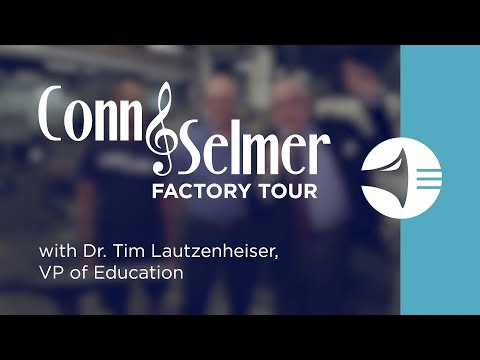 WWBW Conn Selmer Factory Tour - Bach Bells with Michael & Paul
