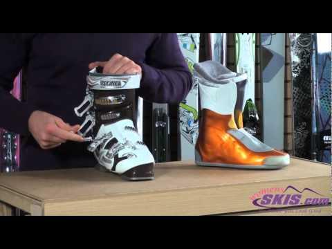 f19440f2ad7 Tecnica Viva Phoenix 80 Air Shell Womens Ski Boot Review - YouTube