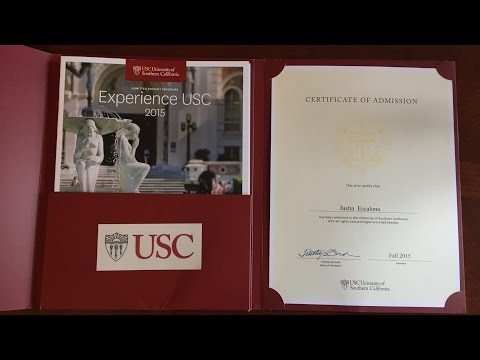 HOW I GOT INTO USC