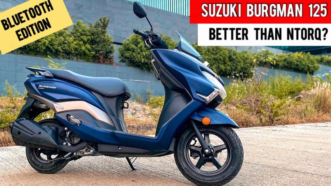 video Suzuki Burgman Street 125