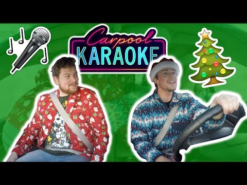 CHRISTMAS CARPOOL KARAOKE **viral content warning**
