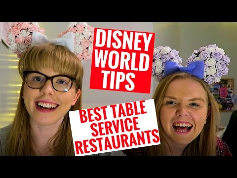 BEST TABLE SERVICE RESTAURANTS IN WALT DISNEY WORLD | Dining Plan Review